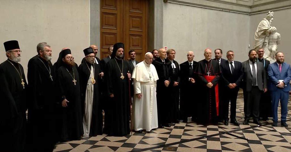A református egyház vezetőit is fogadta Ferenc pápa – Reformatus.hu