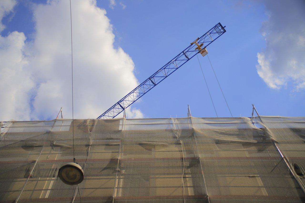 Ráday Kollégium építkezés bejárás 2021-07-28